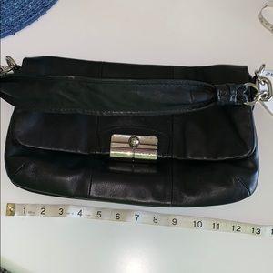 Coach genuine soft leather classy bag